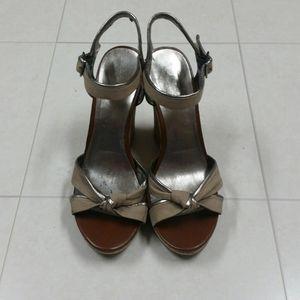 2/$40 ALDO Berger Sandals Cork Platform